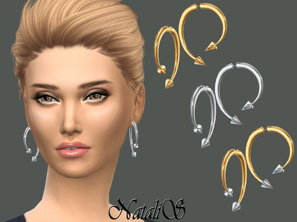 NataliS_Winding Arrow Earrings
