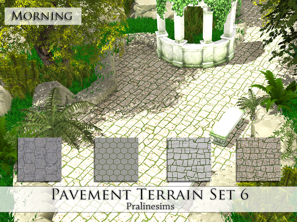 Terrain Paints by PralineSims