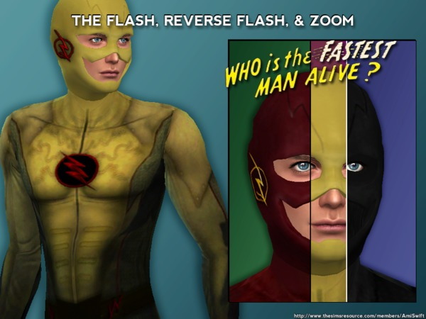 Reverse Flash & Zoom Set by AmiSwift