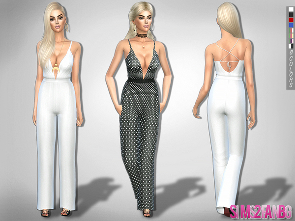 208 - Formal jumpsuit by sims2fanbg