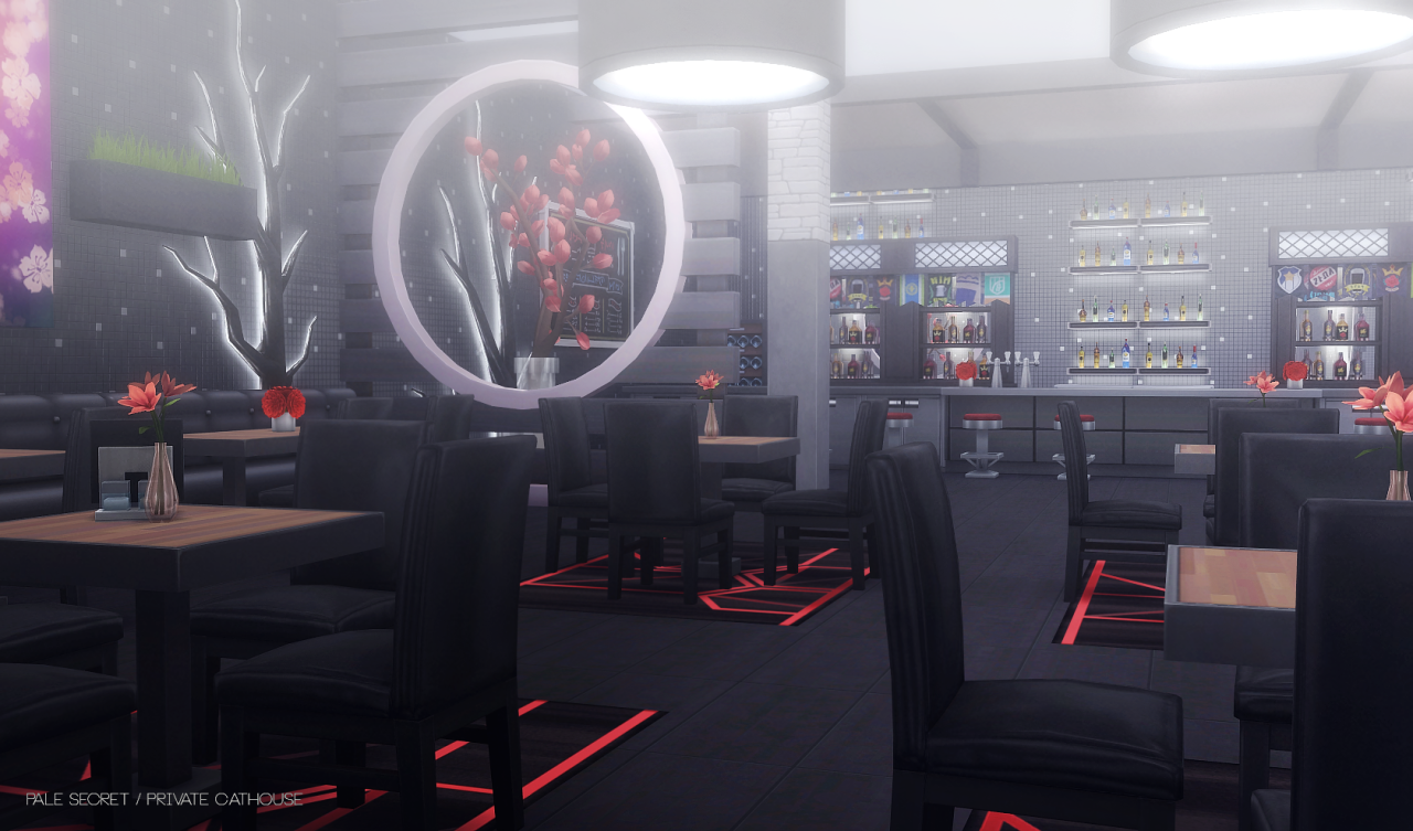 Private Cathouse Club by PralineSims
