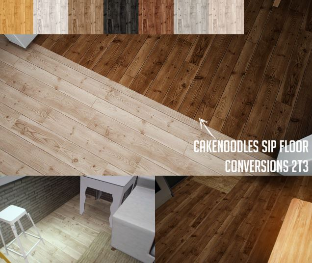 Sip wood floors conversions by Cakenoodles