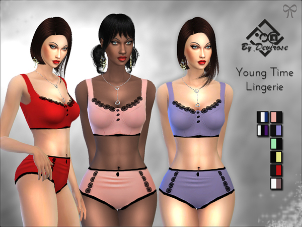 Young Time Lingerie by Devirose