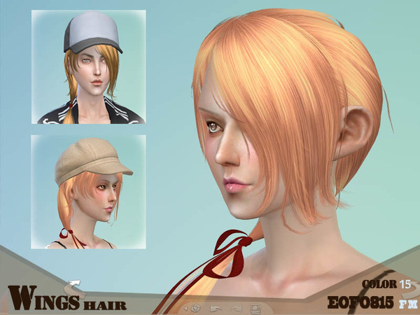 New Hair for Males and Females by Wings