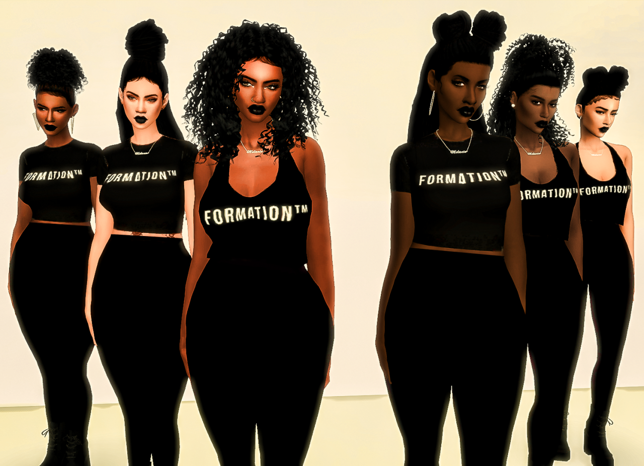 Formation - 6 New Hairs by EbonixSimblr