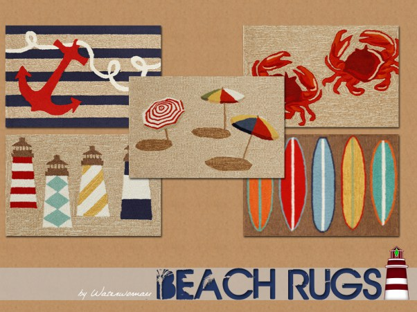 Beach Rugs by WaterWoman