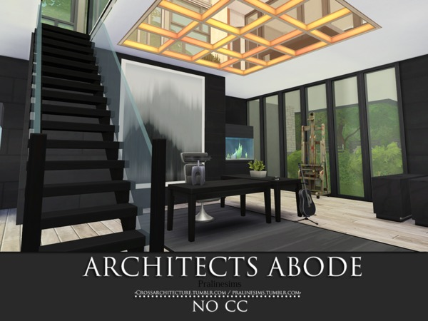Architects Abode by Pralinesims