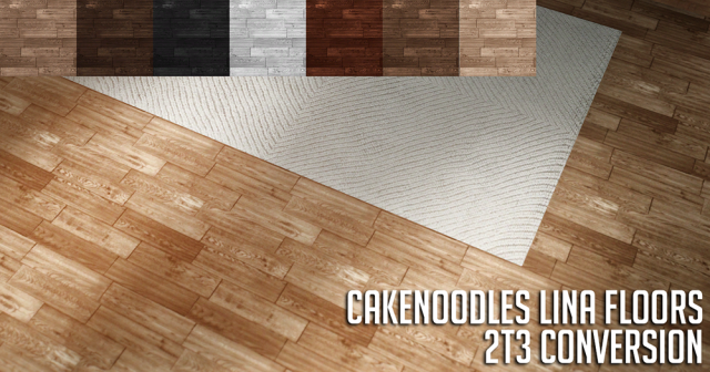 intervila Wood Floors conversions by Cakenoodles