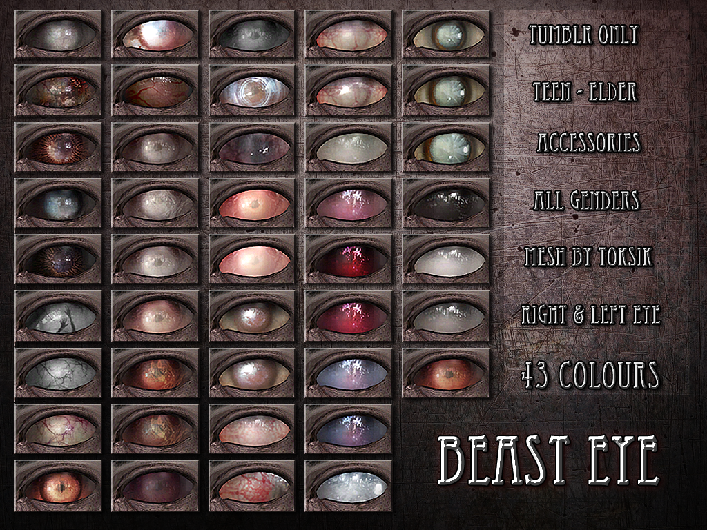 Beast Eye by RemusSims