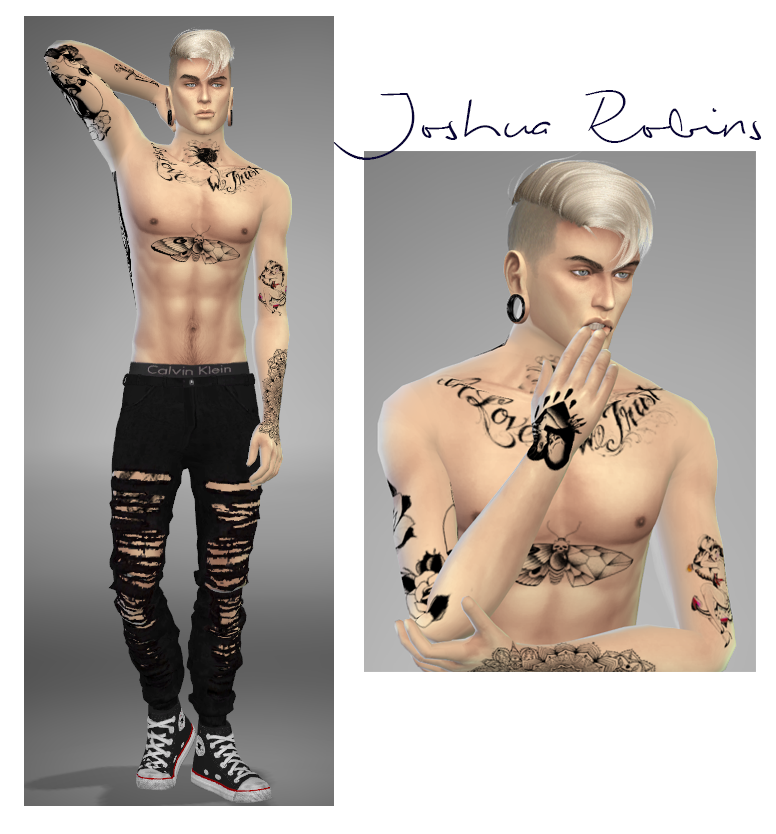 Joshua Robins - Base Tattoos by Overkill Simmer