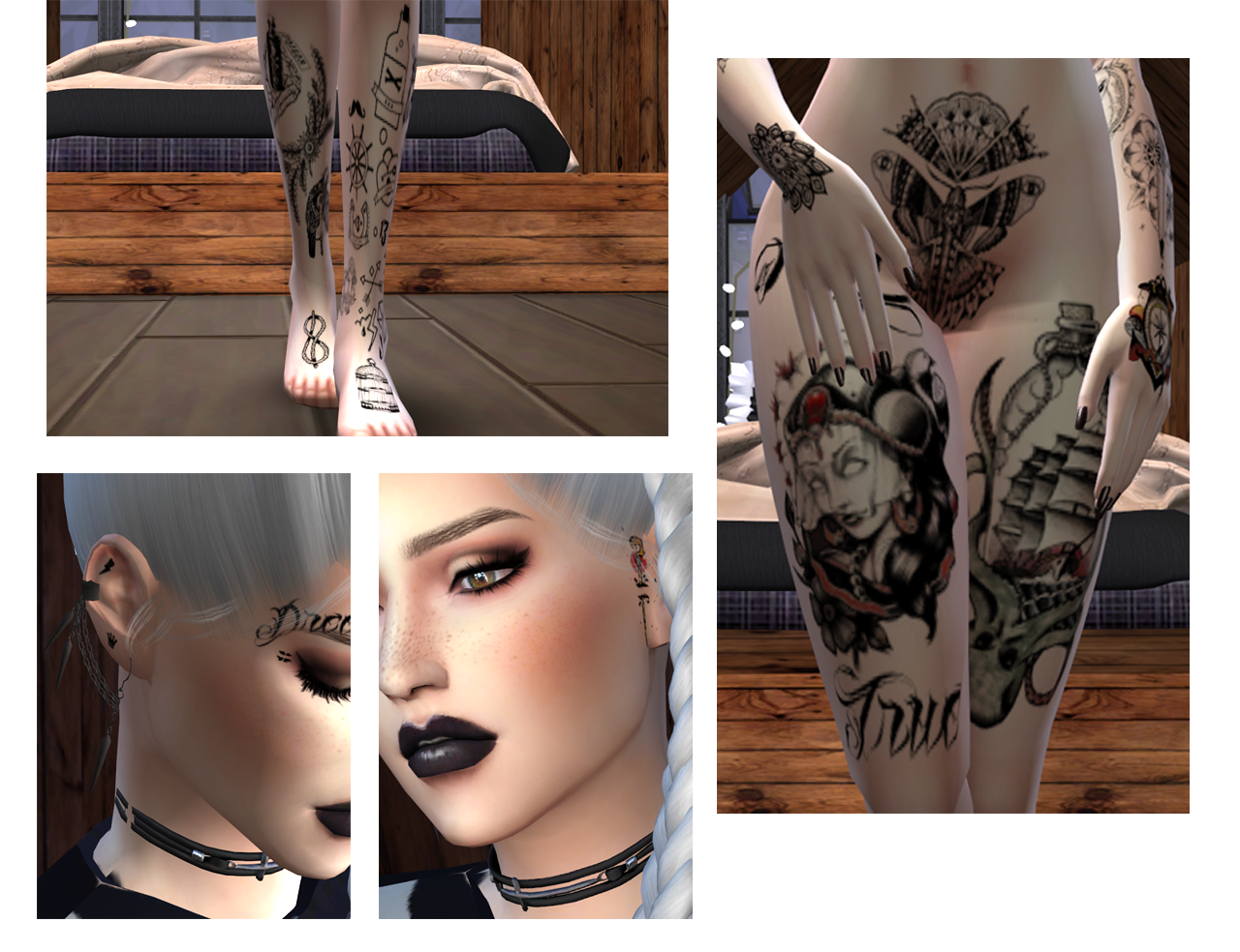 Leonie Phelps - Base Tattoos by Overkill Simmer