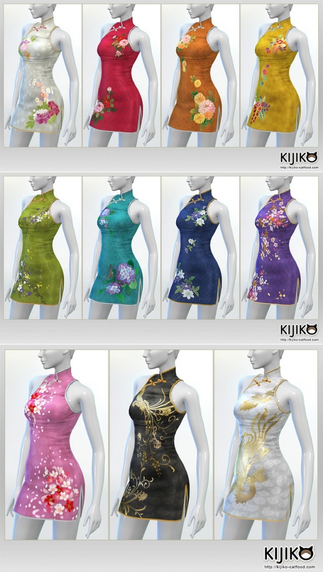 Cheongsam Dress by Kijiko