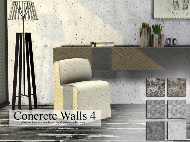 Concrete Walls 4 by Pralinesims
