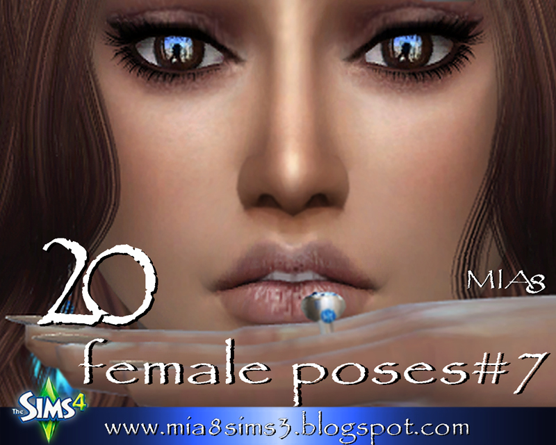 TS4 20 female poses#7 by Mia8