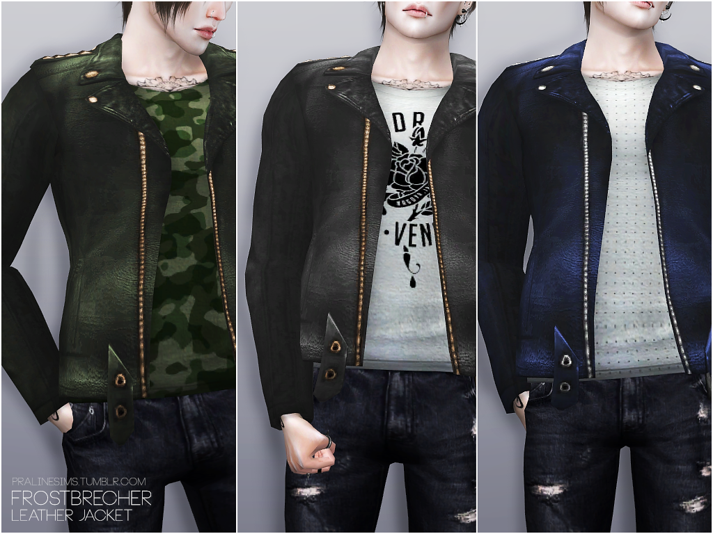 Leather Jackets by PralineSims