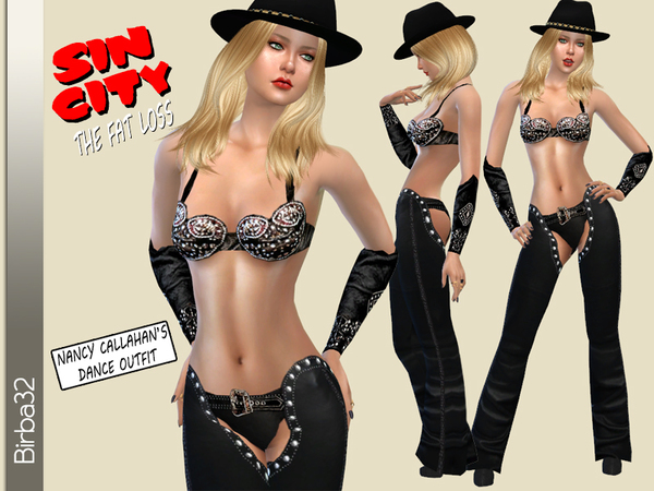 Sin City - Nancy's dance outfit 2 by Birba32