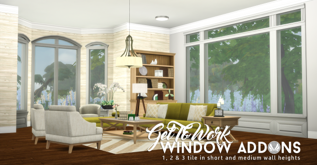 Get To Work Window Addons от Peacemaker IC