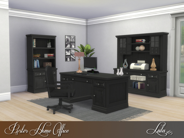 Porter Home Office by Lulu265