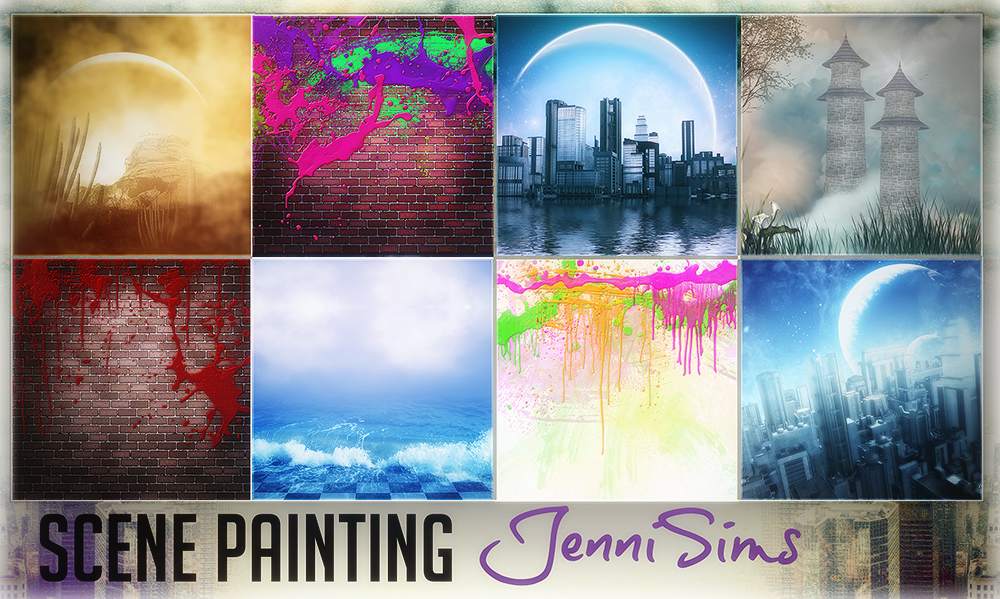 Scenery Paintings by JenniSims