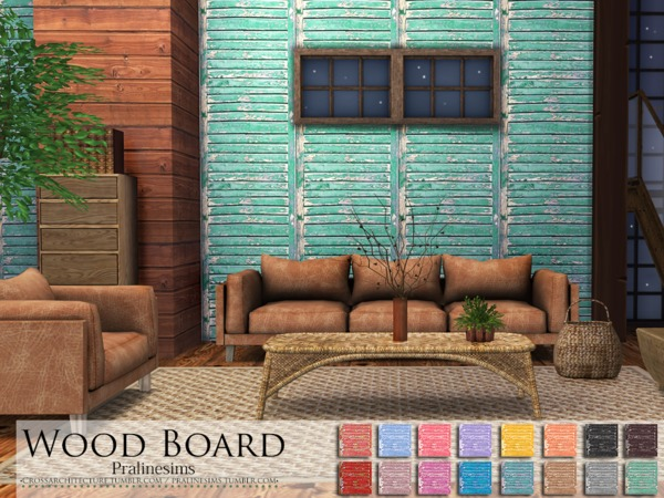Wood Board by Pralinesims