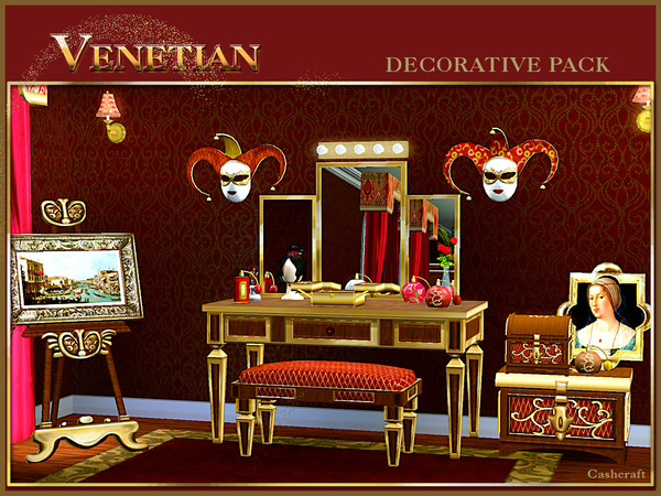 Venetian Decor Pack by cashcraft