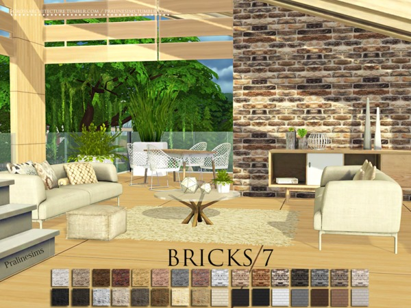 Bricks 7 by Pralinesims
