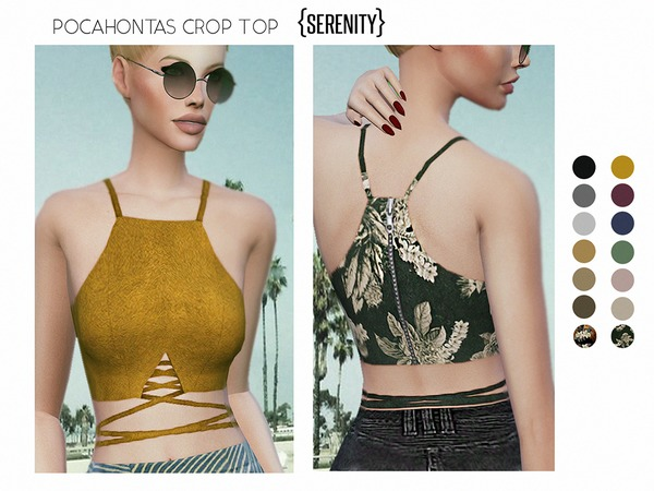 Pocahontas Crop Top by serenity-cc
