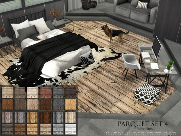 Parquet Set 4 by Pralinesims