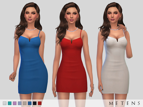 Solis Dress by Metens