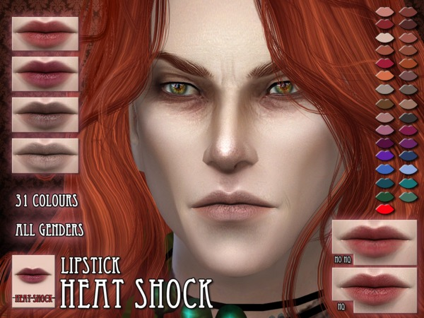 Heat Shock lips by RemusSirion