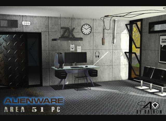 Alienware Area 51 Pc by Daer0n