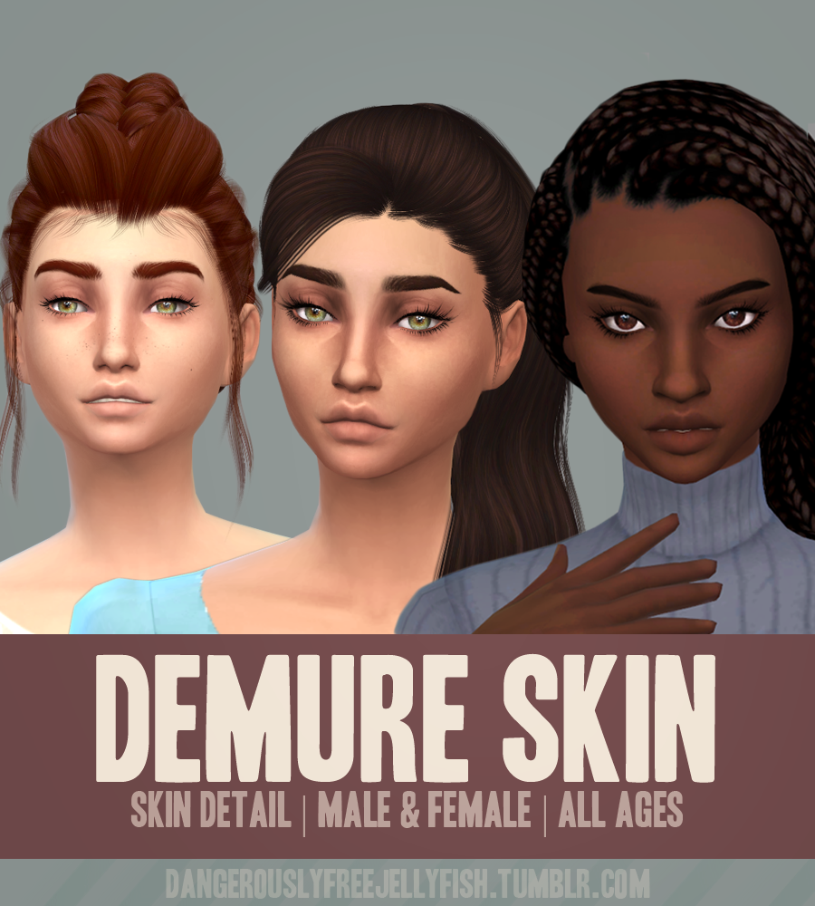 Demure Skin for Males and Females by DangerouslyFreeJellyfish