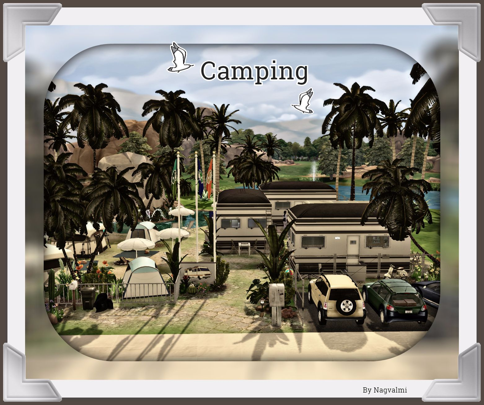 Camping by Nagvalmi