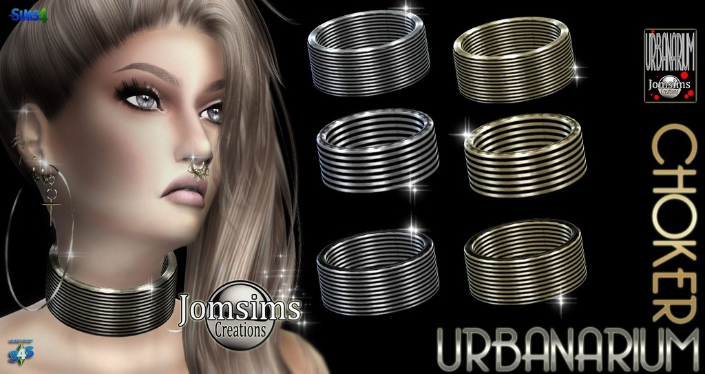 Urbanarium Choker by JomSims