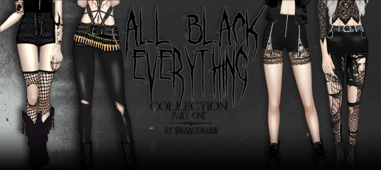 All Black Everything 1 by simaddams