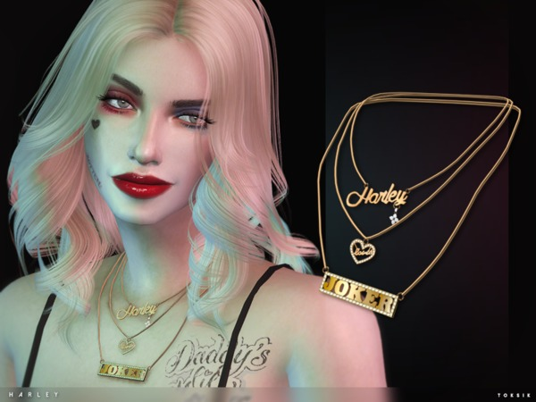 toksik - Harley Necklace