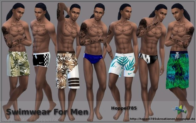 Swimwear for Males by Hoppel785