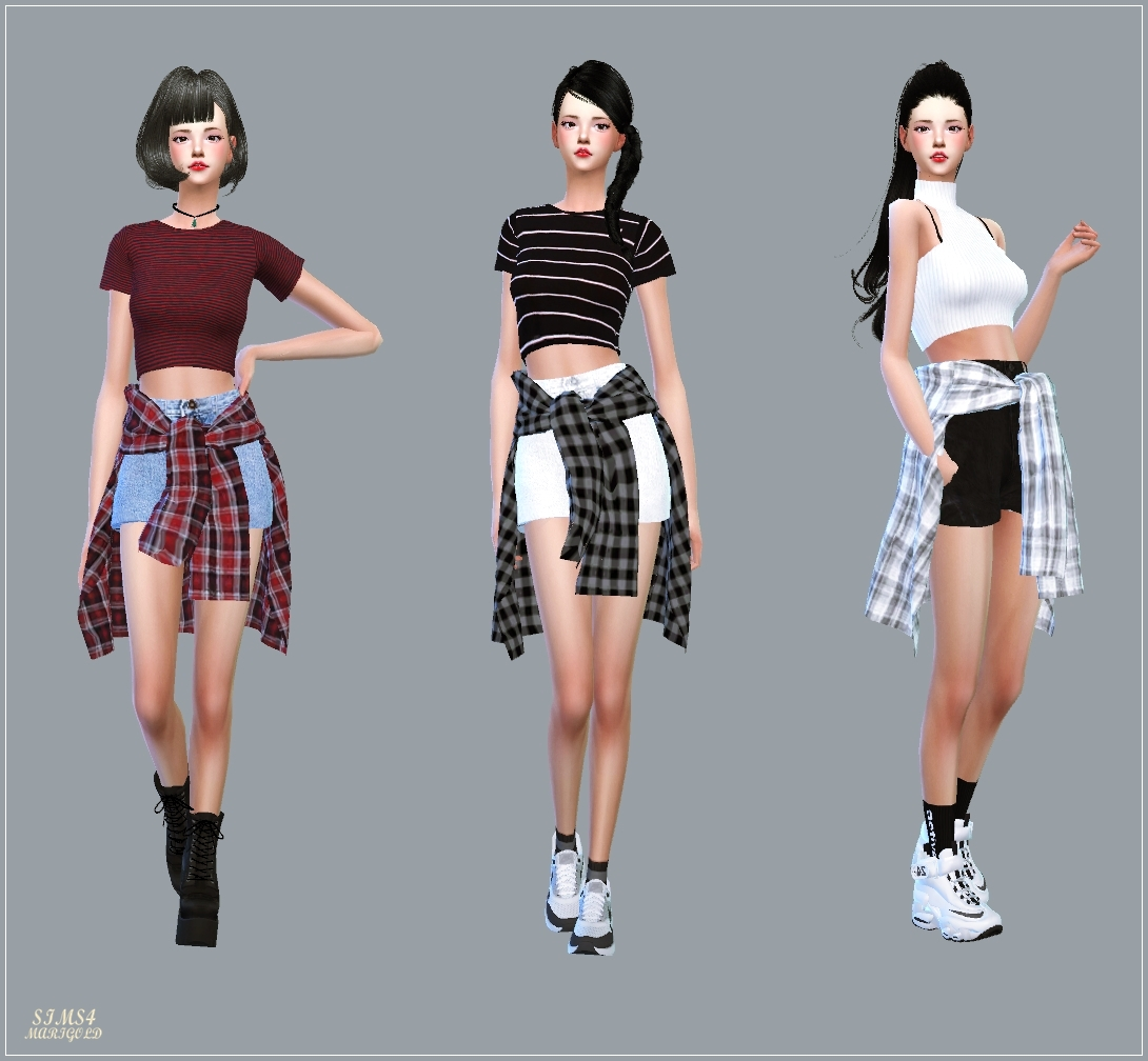 Hot Pants With Shirts by Marigold