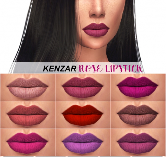 Rose Lipstick by Kenzar