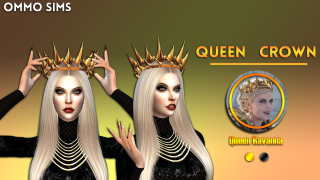 Queen Crown (Queen Ravenna) by Ommosims
