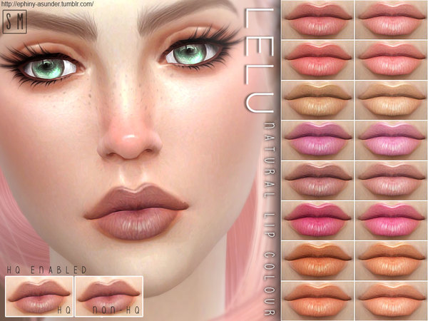 [ Lelu ] - Natural Lip Colouring by Screaming Mustard