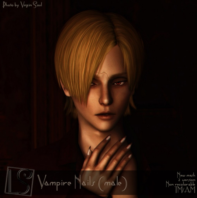 Vampire Nails (male) от Lucy