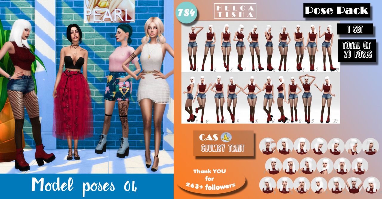 Model poses 04_CAS-Pose pack by Helgatisha