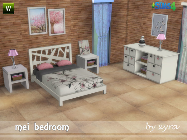 xyra Mei bedroom set by xyra33