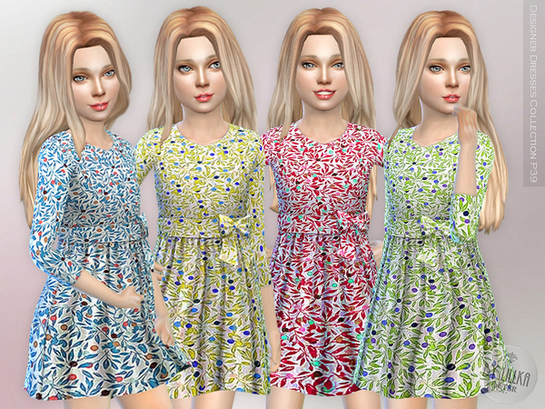 Designer Dresses Collection P39 by lillka
