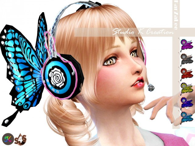 Butterfly headphone by Karzalee
