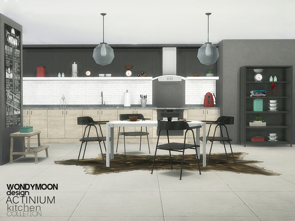 Actinium Kitchen by wondymoon