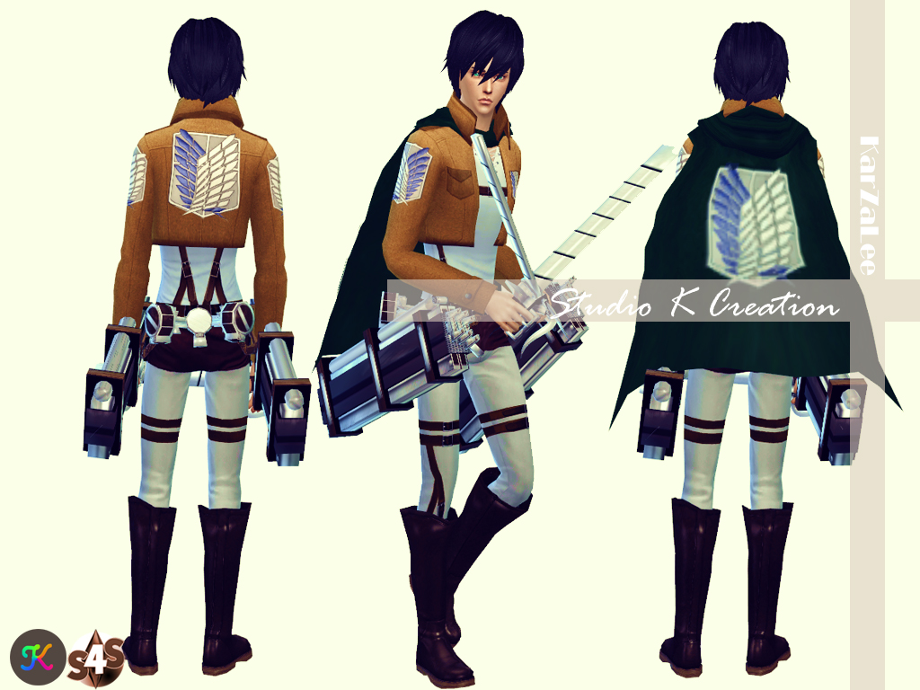 Attack on Titan - full outfit by Karzalee