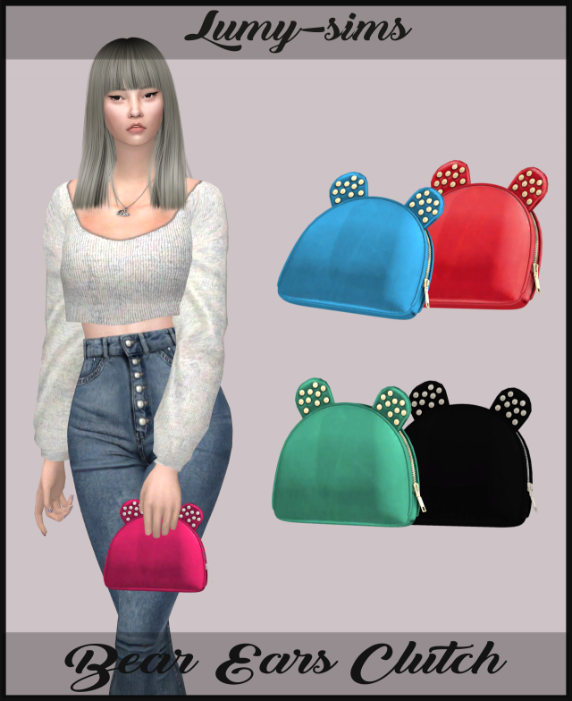 Bear Ears Clutch by Lumy-sims