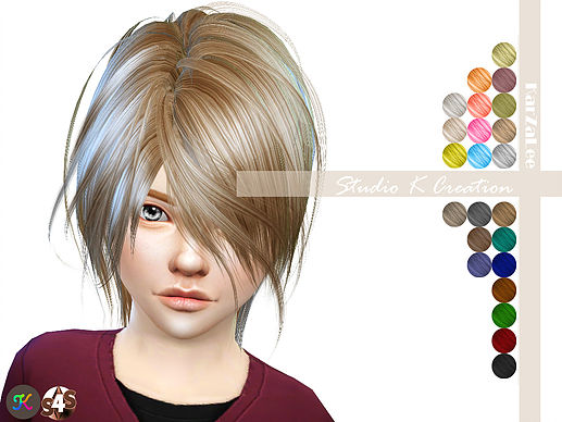Animate hair 52-KYO kids by Karzalee